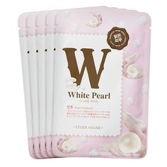 #Mask Etude House - I Need You, White Pearl! Mask Sheet