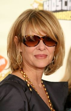 Kate Capshaw Messy Cut - Kate looked fabulous in this messy cut at the Kids' Choice Awards.