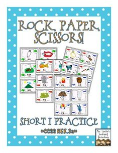 Rock, Paper, Scissors Game: Short i Words