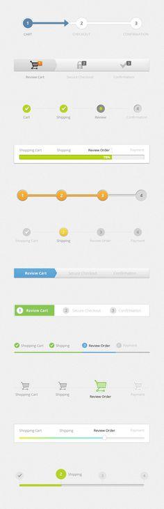 Progress Tracker Web Elements