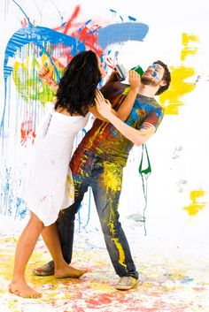 Valentine's Day 2020 : Happy Holi Couple Images – Happy Holi Couple Pictures – Happy Holi Hot . Couples Images, Hot Couples, Blind, Paint Fight, Cute Date Ideas, Gift Ideas, Dream Dates, Romance, Videos Tumblr