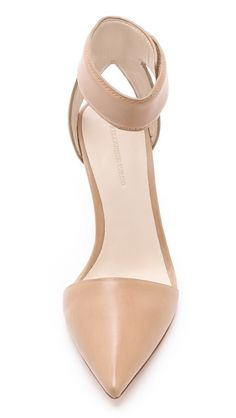 Alexander Wang nude shoes with ankle strap
