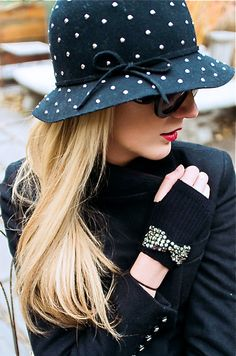 Gloves - Juicy Couture, Hat - Nordstrom.