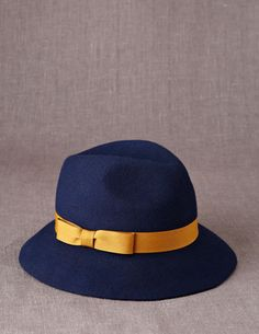 I've spotted this @BodenClothing Fedora Navy