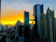 Atardecer en Panama City, Panama