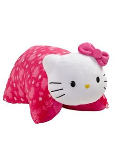 428a05b8abd Get your favorite fans this Hello Kitty Pillow Pet