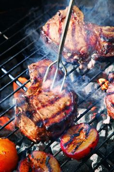 How to Grill Perfect Pork Chops #FathersDay