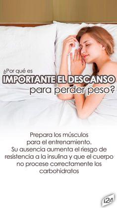 Descansar te ayuda a recuperar las fuerzas perdidas en el día. Así que si es posible perder perso descansando #Sleep #Break #Dormir #Descansar