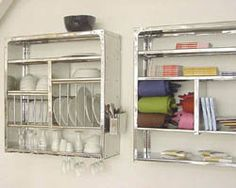 Welcome to the world's Greatest plate rack, dish drying rack, kitchen rack, wall shelves & shelf rack. Stainless steel, simple and full of utility. Wall Mounted Dish Rack, Wall Racks, Rack Shelf, Mounted Shelves, Metal Shelves, Open Shelves, Plate Racks In Kitchen, Kitchen Wall Shelves, Kitchen Storage