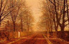 John Atkinson Grimshaw  Golden Light, 1893 - Click image to find more Art Pinterest pins