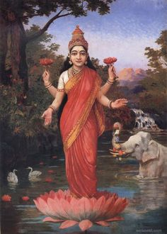 lakshmi ravi varma paintings. Read Full article: http://webneel.com/25-best-oil-paintings-raja-ravi-varma-18th-century-indian-traditional-paintings | more http://webneel.com/daily . Follow us www.pinterest.com/webneel
