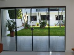 mamparas de vidrio para sala - Buscar con Google Ideas Para, Diy Crafts, Windows, Doors, Wallpaper, Inspiration, Furniture, Google, Home Decor