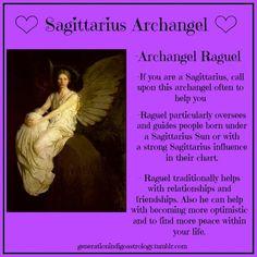 ~Sagittarius Archangel~ #Astrology #Angels #Archangelraguel