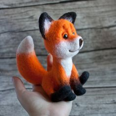 red fox by znmystery on Etsy