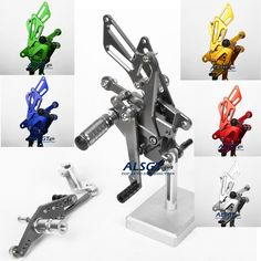 96.83$  Watch here - http://alit8m.worldwells.pw/go.php?t=32694903378 - Moto Accessories Motorcycle CNC Racing Adjustable Foot Pedals Pegs Rear Sets For Honda CBR1000RR 2004 2005 2006 2007 6 Colour