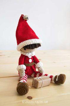 Santas Little Helper Amigurumi Pattern