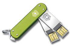 Swiss Army USB flash drives
