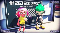 snapping some shellfies - splatoon 2