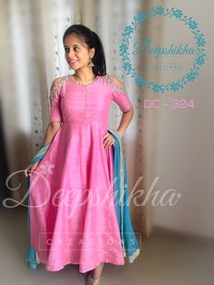 DC - 324For queries kindly inbox orEmail - deepshikhacreations@gmail.com Whatsapp / Call - +919059683293  01 December 2016 Half Saree Designs, Blouse Designs, Indian Gowns Dresses, Indian Outfits, Designer Anarkali Dresses, Designer Dresses, Deepshikha Creations, Stylish Dresses, Fashion Dresses