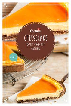 Ein nicht ganz klassisches Rezept für Cheesecake mit dem köstlichen Geschmack von Caotina Blanc Schokolade. Heraus kommt ein unwiderstehlicher Schokoladen Cheesecake. Wer will jetzt noch Käse zum Dessert? Quiche, Diabetes, Goodies, Food And Drink, Sweets, Cakes, Fruit, Drinks, Party