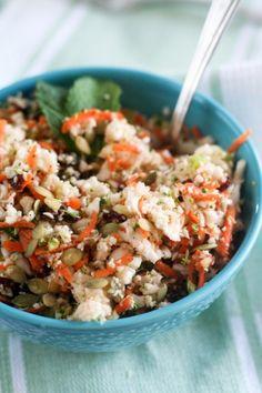 Cauliflower 'Detox' Salad.