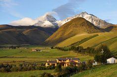 Los Ilinizas, norte y sur, y el hermoso páramo del Ecuador