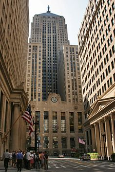 Chicago Board of Trade. You loved the chaos and the early morning start time. It was a lot like gambling. It also gave us a great start in our life together.