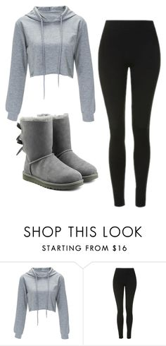 """""""Untitled #443"""" by cuteskyiscute on Polyvore featuring Topshop and UGG"""