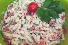 Příprava receptu Těstovinový salát se sýrem čedar, krok 7 Grains, Rice, Red Peppers, Seeds, Laughter, Jim Rice, Korn