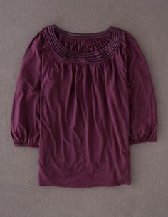 Boden Clothing Marchmont Top Berry
