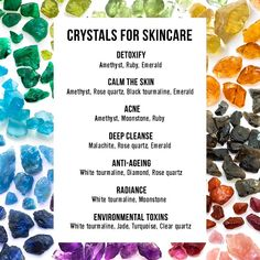 We know that crystals have tremendous healing powers for your skin. But like all ingredients, different crystals do different things. Malachite helps combat UV damage, while rose quartz softens fine lines, buffs away dead cells and impurities and calms redness. So, which one do YOU need? Let's make it easy with a ready reckoner. #crystals #crystalsforskin #crystalshealing #skincare