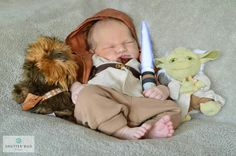 Baby picture, baby boy, star wars