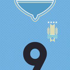 Uruguay La Celeste in World Cup 2014