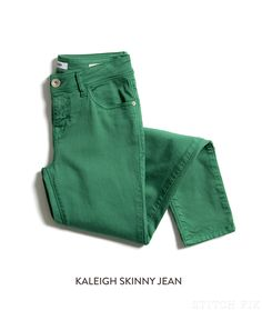 Dear stitch fix, loving the colored denim! Would love to get a pair of these, any color! Stitch Fix Kaleigh Skinny Jean