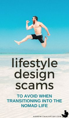 Beware of lifestyle design scams that peddle the lifestyle design dream. Here are just some common digital nomad scams you need to watch out for: hobowithalaptop. Travel Articles, Travel Advice, Travel Guides, Work Travel, Asia Travel, Human Emotions, Digital Nomad, Online Work, Motivation