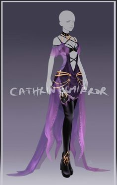 (CLOSED) Adopt Auction - Outfit 55 by cathrine6mirror