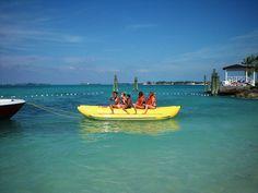 yellow boat