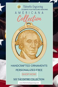 Looking for a perfect George Washington Ornament? This George Washington Ornament is the perfect solution to add a bit of Americana and the wonderful history of the United States to your home. Unique Christmas Gifts, Christmas Gift Guide, Rustic Christmas, Holiday Gifts, Christmas Ornaments, Christmas Decor, Secret Santa Gift Exchange, Secret Santa Gifts, Rustic Wood Decor