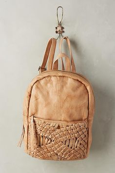 Discover unique bags, clutches & travel accessories at Anthropologie, including the season's newest arrivals. Backpack Bags, Leather Backpack, Fashion Backpack, Minimalist Bag, Embroidered Bag, Unique Bags, Womens Fashion Sneakers, Braided Leather, Womens Slippers
