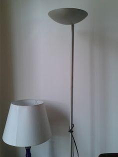 Dicas do Gilson Eletricista: Como salvar um abajur coluna de ir para o lixo ?