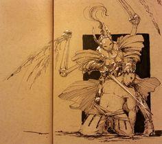 Sword of the Fallen Angel, Adam Dawidowicz on ArtStation at https://www.artstation.com/artwork/E29g4