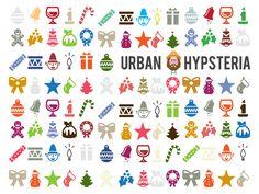 Christmas Wallpaper by Urban Hypsteria Christmas Wallpaper, Festive, Urban, Graphic Design, Illustration, Artwork, Free, Work Of Art, Auguste Rodin Artwork