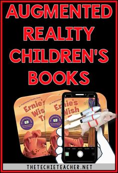 Augmented Reality Children's Books make stories come alive with their interactive components. GREAT for reluctant readers! Augmented Virtual Reality, Augmented Reality Technology, Futuristic Technology, Energy Technology, Educational Technology, Technology Tools, Medical Technology, Virtual Reality Education, Reluctant Readers