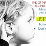 The Habit of Listening; Games that Encourage Listening   JessicaLynette.comJessicaLynette.com