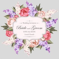 Vintage Wedding Invitation - Weddings Seasons/Holidays Download here : http://graphicriver.net/item/vintage-wedding-invitation/16206484?s_rank=1&ref=Al-fatih