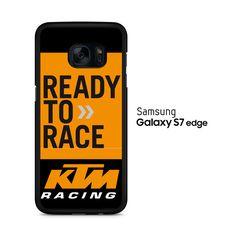 KTM Racing Ready To Race Samsung Galaxy S7 Edge Case