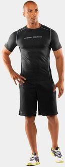 $21.99 Men's Under Armour UA HeatGear Touch Fitted Short Sleeve Crew #dealsplus #underarmour