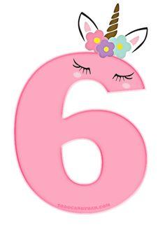 6th Birthday Girls, Birthday Wishes For Kids, Colorful Birthday Party, My Little Pony Birthday Party, Unicorn Themed Birthday, Unicorn Birthday Parties, Birthday Diy, Birthday Photos, Unicorn Party