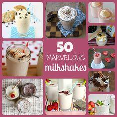 50 Marvelous Milkshakes - Something Swanky
