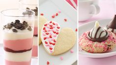 When it's down to the wire, make sure you've got something sweet for your sweetie with these easy, last minute desserts.